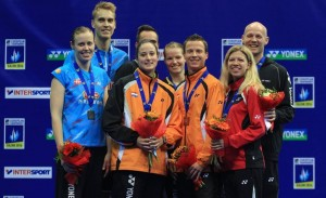 XD all medallists