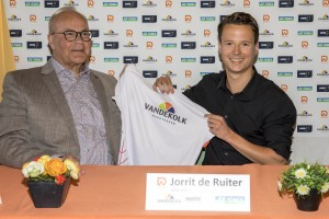 Together with sponsor Jaap van de Kolk